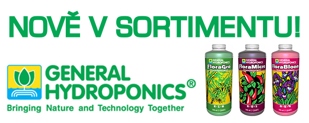 General Hydroponics - nově v sortimentu