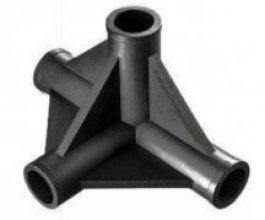 Plastová spojka do HOMEBOXu se čtyřmi vývody, prům. 22 mm
