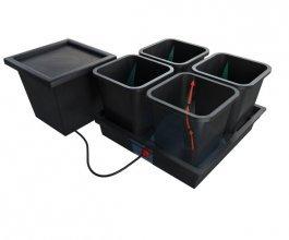 Quadgrow, pasivní hydroponický systém pro 4 rostliny
