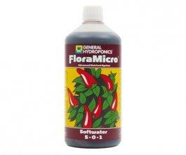 General Hydroponics FloraMicro pro měkkou vodu, 1L