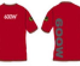 Triko Growshop 600W červené, všechny velikosti
