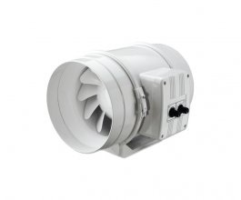 Ventilátor s termostatem TT 250 PRO U, 1110/1400m3/h