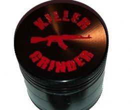 Drtička KILLER 40mm černá, kovová, se sítkem, 4 dílná