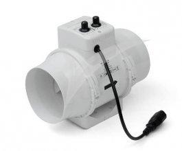 Ventilátor s termostatem TT  Vents/Dalap 160 U-T, 467/552m3/h