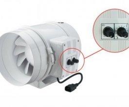 Ventilátor s termostatem  Vents/Dalap 200 U-T, 830/1040m3/h