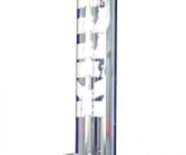 Bong Zooom KILLER TOWER průhledný se skleněným kotlíkem, 60cm