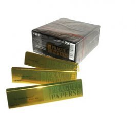 Papírky PRAGUE PAPERS DELUXE King Size, 40ks v balení